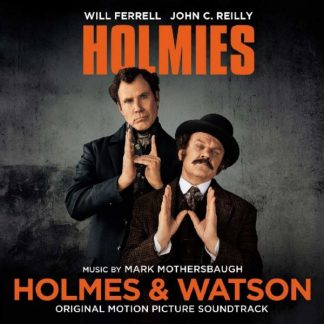 HOLMES & WATSON Mark Mothersbaugh (Devo) OST LP Limited Edition