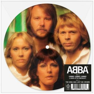 """ABBA Gimme Gimme Gimme 7"""" single  Limited Picture Edition"""