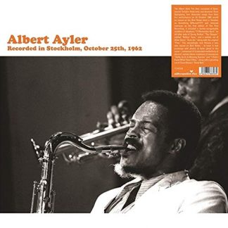 ALBERT AYLER Recorded In Stockholm, October 25th, 1962 DLP