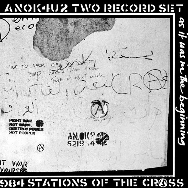 CRASS Stations Of The Crass 2CD