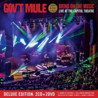 GOV'T MULE Bring On The Music - Live at The Capitol Theatre BOX 2CD e 2DVD