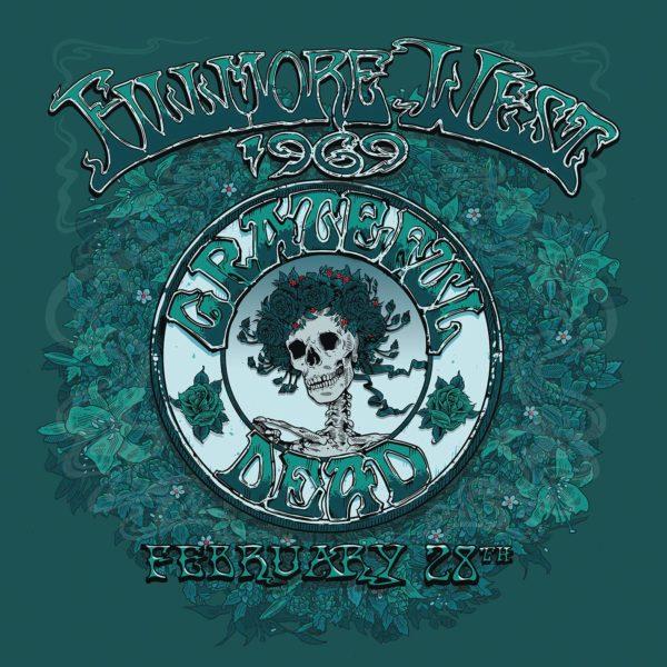 GRATEFUL DEAD Fillmore West, San Francisco, CA 2/28/69 BOX 5 LP