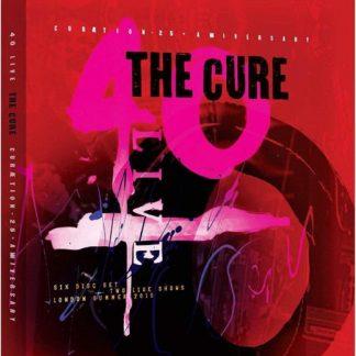 CURE 40 Live + Curaetion-25 BOX 4 CD+2 DVD+BOOK