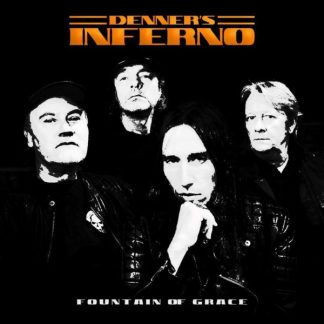DENNER'S INFERNO Fountain Of Grace  CD single Limited Edition
