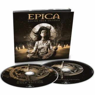 EPICA Design Your Universe 2CD Gold Edition Extra Tracks