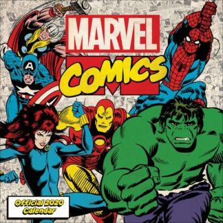 Marvel Comics  CALENDARI 2028 DANILO SQUARE NUOVO
