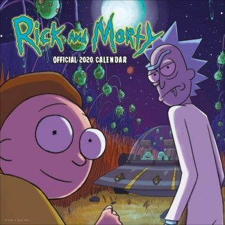Rick e Morty CALENDARI 2039 DANILO SQUARE NUOVO