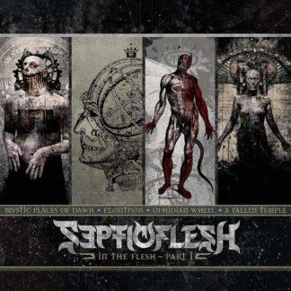 SEPTICFLESH In The Flesh Part 1 BOX 4 CD