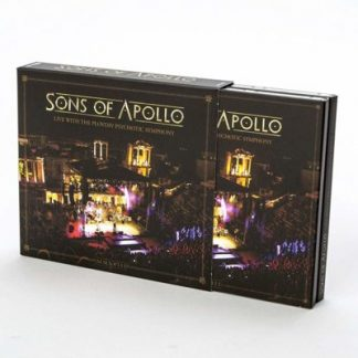 SONS OF APOLLO Live With Plovdiv Psychotic Symphony BOX 3CD+DVD+BLURAY