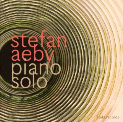 STEFAN AEBY Piano Solo CD