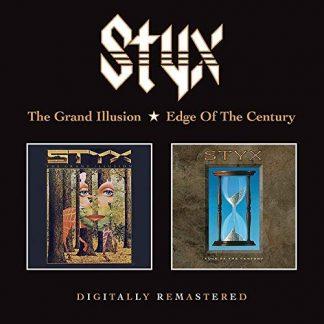 STYX The Grand Illusion + Edge Of The Century 2CD