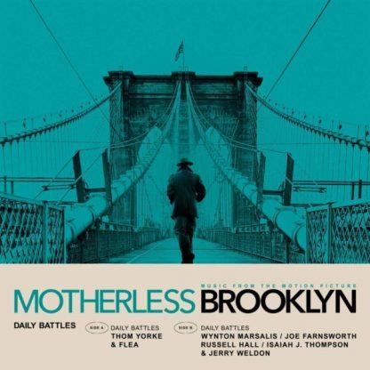 "THOM YORKE e FLEA / WYNTON MARSALIS Daily Battles 7"" single"