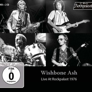 WISHBONE ASH Live At Rockpalast 1976 BOX 2CD+DVD