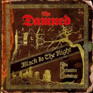 DAMNED Black Is The Night - The Definitive Anthology BOX 4 LP Limited Edition
