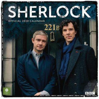 Sherlock  CALENDARI 2020 DANILO SQUARE NUOVO