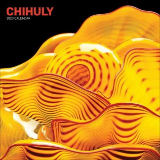 Chihuly  CALENDARI 2020 Abrams And Chronicle Books square NUOVO