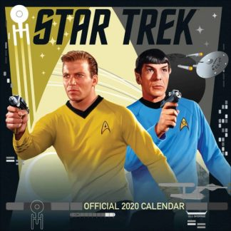 Star Trek Ufficiale CALENDARI 2020 DANILO SQUARE NUOVO