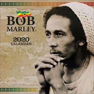 Bob Marley CALENDARI 2020 Pyramid SQUARE NUOVO