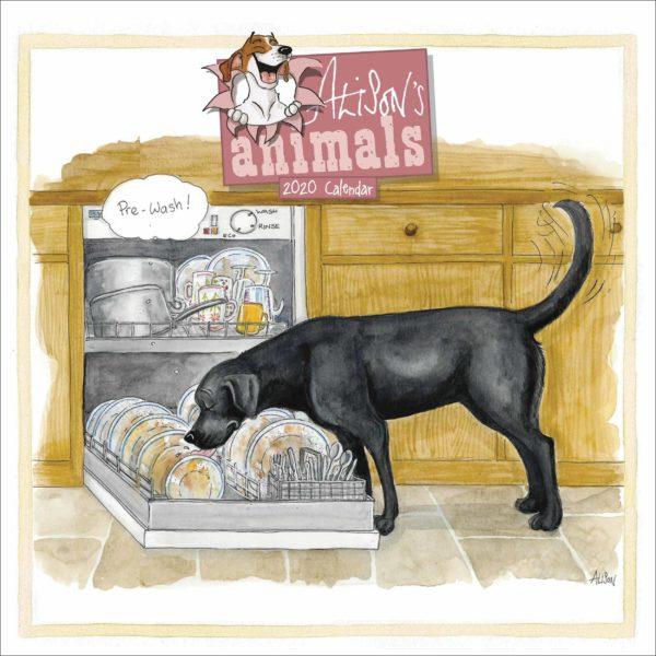 Animali di Alison CALENDARI 2020 Carousel SQUARE NUOVO