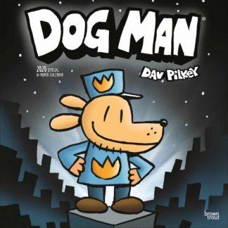 Dog Man CALENDARI 2020 Browntrout SQUARE NUOVO