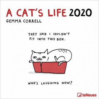 Gemma Correll, vita di un gatto CALENDARI 2020 Cbs For Teneues SQUARE NUOVO