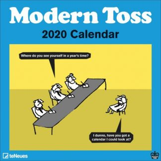 Moderna Toss CALENDARI 2020 Cbs For Teneues SQUARE NUOVO