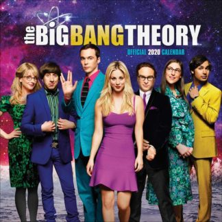 Big Bang Theory CALENDARI 2020 DANILO SQUARE NUOVO