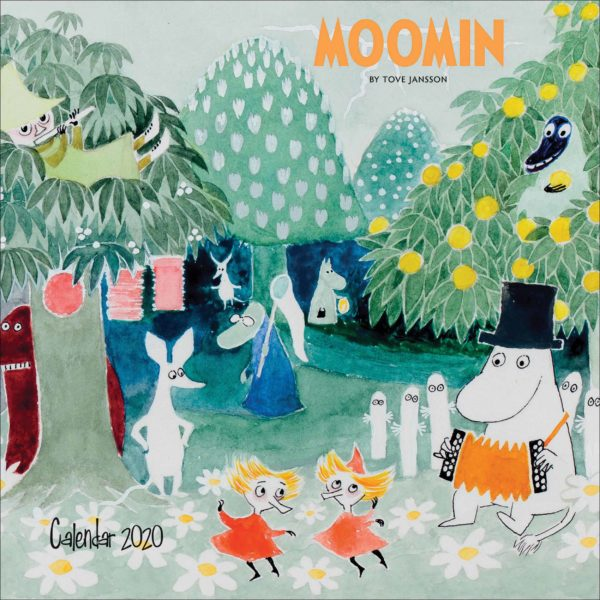 Moomin CALENDARI 2020 Flame Tree SQUARE NUOVO