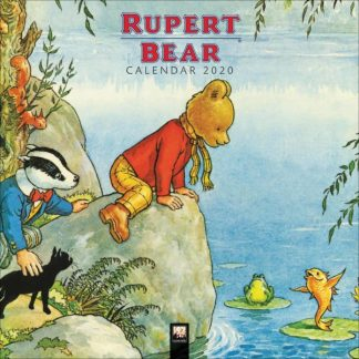Orso Rupert  CALENDARI 2020 Flame Tree SQUARE NUOVO