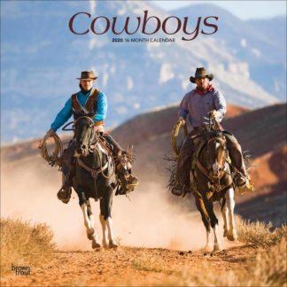 Cowboys CALENDARI 2020 Browntrout SQUARE NUOVO