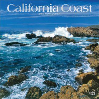 Costa Californiana CALENDARI 2020 Browntrout SQUARE NUOVO
