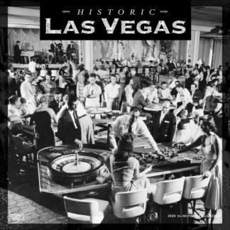 Las Vegas Storica CALENDARI 2020 Browntrout SQUARE NUOVO