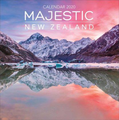Magnifica Nuova Zelanda  CALENDARI 2020 Browntrout SQUARE NUOVO