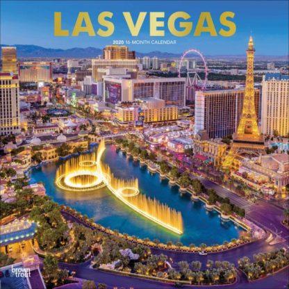 Las Vegas CALENDARI 2020 Browntrout SQUARE NUOVO
