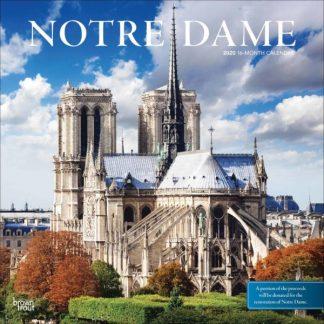 Notre Dame CALENDARI 2020 Browntrout SQUARE NUOVO