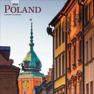 Polonia  CALENDARI 2020 Browntrout square NUOVO