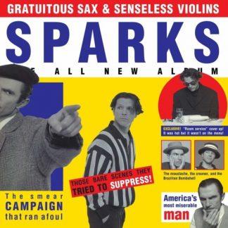SPARKS Gratuitous Sex & Senseless Violins LP Limited Edition