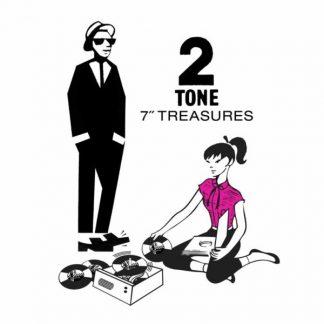 "TWO TONE TREASURES (VV.AA.) BOX 12x7"" singles"