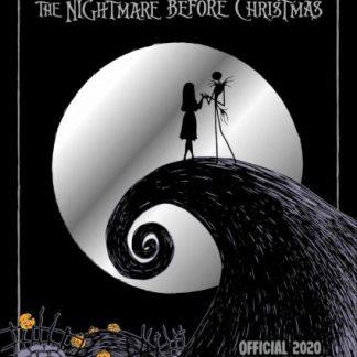 Incubo di Tim Burton Prima di Natale da Collezione CALENDARI 2020 Danilo A3 NUOVO