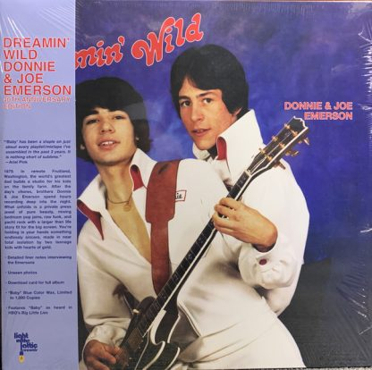 DONNIE & JOE EMERSON Dreamin' Wild LP Limited Edition