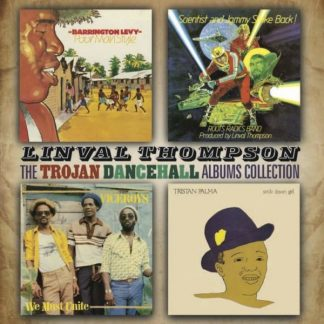 LINVAL THOMPSON Trojan Dancehall Albums Collection 2CD
