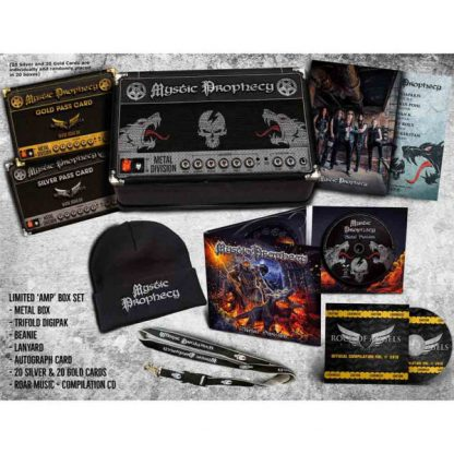 MYSTIC PROPHECY Metal Division BOX SET Limited Edition