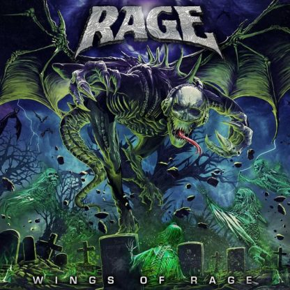 RAGE Wings Of Rage CD