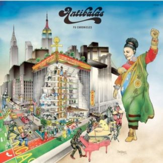 ANTIBALAS Fu Chronicles CD
