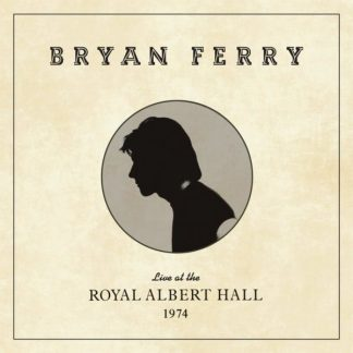 BRYAN FERRY Live At The Royal Albert Hall 1975 LP