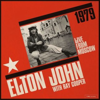 ELTON JOHN with RAY COOPER Live From Moscow 2CD