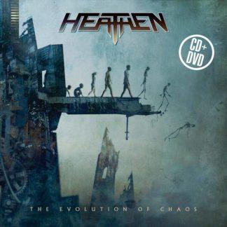 HEATHEN The Evolution Of Chaos  CD+DVD 10th Anniversary Edition