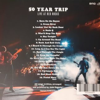 JOHN FOGERTY 50 Year Trip: Live At Red Rocks CD