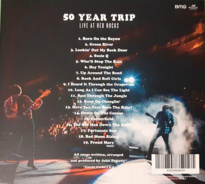 JOHN FOGERTY 50 Year Trip: Live At Red Rocks CD