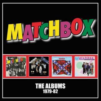MATCHBOX The Albums 1979-82 BOX 4 CD